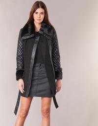 Oblačila Ženske Plašči Morgan GEFROU Črna