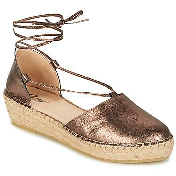 Čevlji  Ženske Sandali & Odprti čevlji Betty London GIORDA Bronze