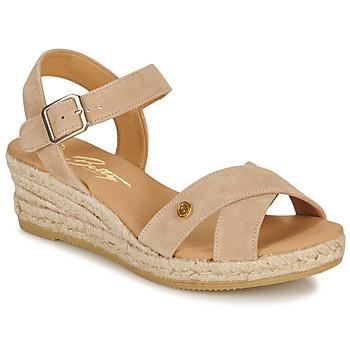 Čevlji  Ženske Sandali & Odprti čevlji Betty London GIORGIA Taupe