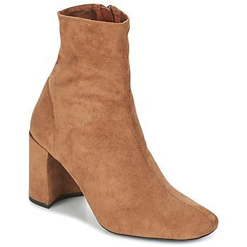 Čevlji  Ženske Gležnjarji Jeffrey Campbell CIENEGA Kamel