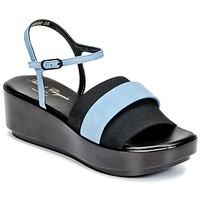 Čevlji  Ženske Sandali & Odprti čevlji Robert Clergerie PODDY Črna / Modra