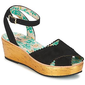 Čevlji  Ženske Sandali & Odprti čevlji Miss L'Fire MARCIE Črna