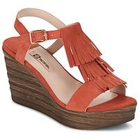 Čevlji  Ženske Sandali & Odprti čevlji Spiral CARLA Oranžna