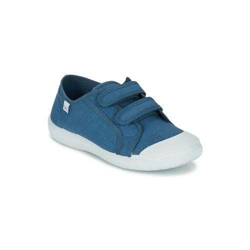 Čevlji  Deklice Nizke superge Citrouille et Compagnie GLASSIA Modra