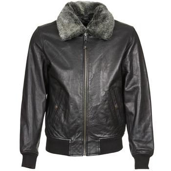 Oblačila Moški Usnjene jakne & Sintetične jakne Schott FELIATO Črna
