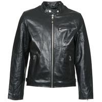 Oblačila Moški Usnjene jakne & Sintetične jakne Schott LC 940 D Črna