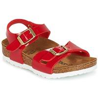Čevlji  Otroci Sandali & Odprti čevlji Birkenstock RIO Rdeča
