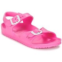 Čevlji  Otroci Sandali & Odprti čevlji Birkenstock RIO EVA Rožnata