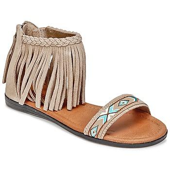 Čevlji  Ženske Sandali & Odprti čevlji Minnetonka MOROCCO Taupe