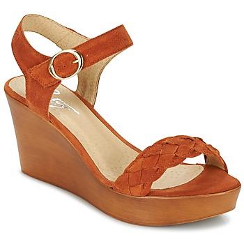 Čevlji  Ženske Sandali & Odprti čevlji Betty London GIMI Rouille