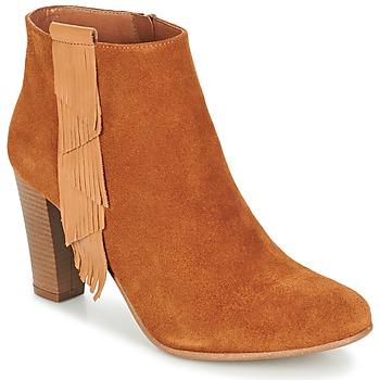 Čevlji  Ženske Gležnjarji Betty London GAMI Kamel