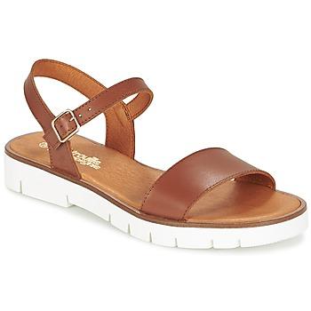 Čevlji  Deklice Sandali & Odprti čevlji Citrouille et Compagnie GLAPOTTI Kamel
