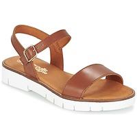 Čevlji  Deklice Sandali & Odprti čevlji Citrouille et Compagnie GLAPOTI Kamel