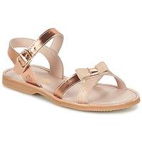 Čevlji  Deklice Sandali & Odprti čevlji Citrouille et Compagnie GOGOGATO Bronze