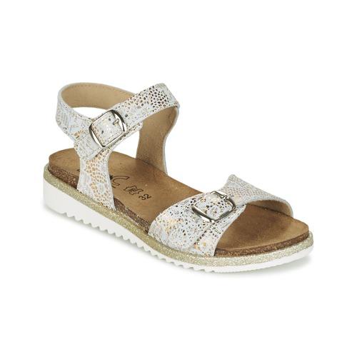 Čevlji  Deklice Sandali & Odprti čevlji Citrouille et Compagnie GUAFRETTE Pozlačena