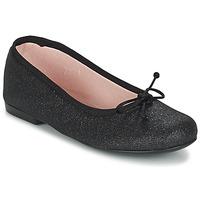Čevlji  Deklice Balerinke Citrouille et Compagnie GLIGLO Črna / Slamnata