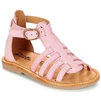 Čevlji  Deklice Sandali & Odprti čevlji Citrouille et Compagnie JASMA Rožnata