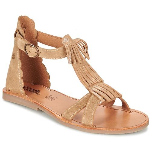 Čevlji  Deklice Sandali & Odprti čevlji Citrouille et Compagnie GAMELA Kamel