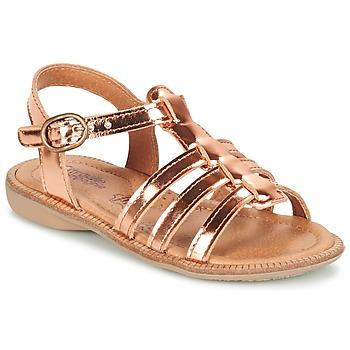 Čevlji  Deklice Sandali & Odprti čevlji Citrouille et Compagnie GROUFLA Bronze