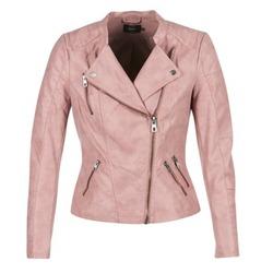 Oblačila Ženske Usnjene jakne & Sintetične jakne Only AVA Rožnata