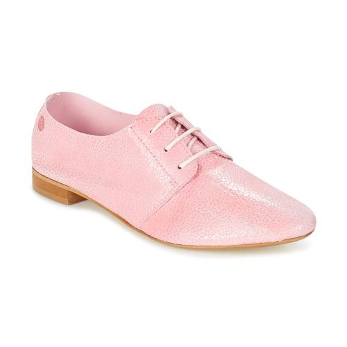 Čevlji  Ženske Čevlji Derby Betty London GEZA Rožnata