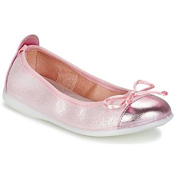 Čevlji  Deklice Balerinke Citrouille et Compagnie GRAGON Rožnata / Slamnata