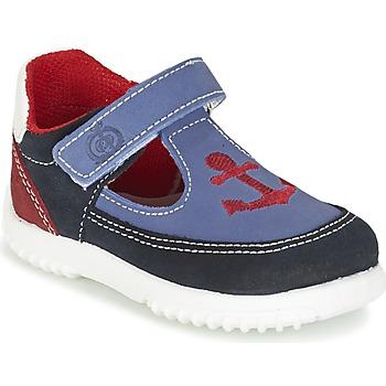 Čevlji  Dečki Sandali & Odprti čevlji Citrouille et Compagnie GANDAL Modra / Rdeča