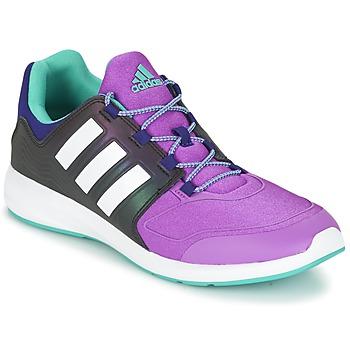 Čevlji  Otroci Nizke superge adidas Originals S-FLEX K Črna / Vijolična