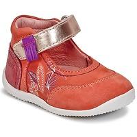 Čevlji  Deklice Balerinke Kickers BIMAMBO Oranžna / Fuksija / Rožnata