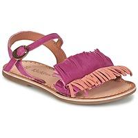Čevlji  Deklice Sandali & Odprti čevlji Kickers DIXFROUFROU KID Fuksija / Koralna