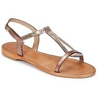 Čevlji  Ženske Sandali & Odprti čevlji Les Tropéziennes par M Belarbi HAMAT Bronze