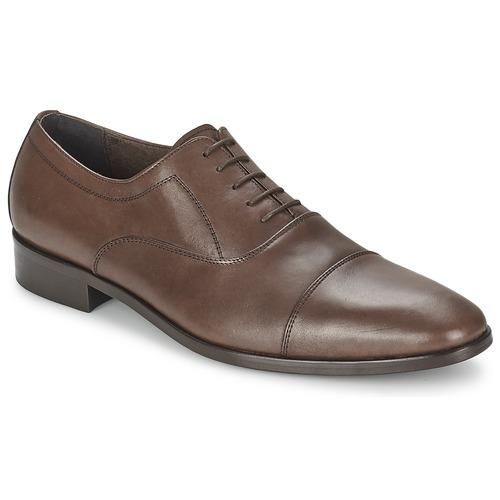 Čevlji  Moški Čevlji Richelieu So Size INDIANA Kostanjeva