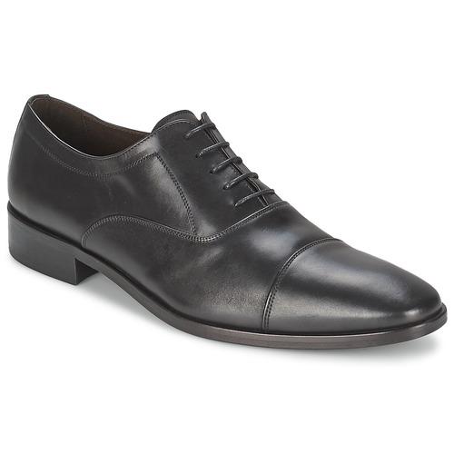 Čevlji  Moški Čevlji Richelieu So Size INDIANA Črna