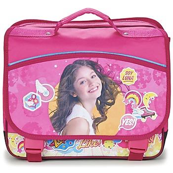 Torbice Deklice Šolska torba Disney SOY LUNA CARTABLE 38CM Rožnata