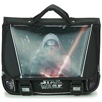 Torbice Dečki Šolska torba Disney STAR WARS CARTABLE 38CM Črna