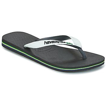 Čevlji  Japonke Havaianas BRASIL MIX Bela / Črna