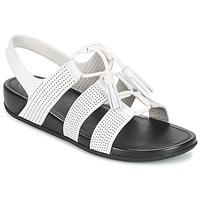 Čevlji  Ženske Sandali & Odprti čevlji FitFlop GLADDIE LACEUP SANDAL Bela