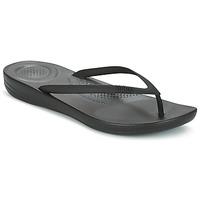 Čevlji  Ženske Japonke FitFlop IQUSHION ERGONOMIC FLIP FLOP Črna