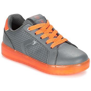 Čevlji  Dečki Nizke superge Geox J KOMMODOR B.B Siva / Oranžna