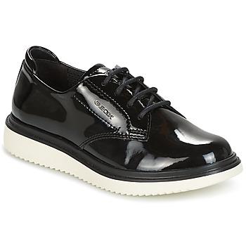 Čevlji  Deklice Čevlji Derby Geox J THYMAR G. B Črna