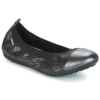 Čevlji  Deklice Balerinke Geox J PIUMA BAL B Črna