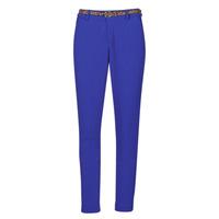 Oblačila Ženske Hlače s 5 žepi Betty London GRIBANO Modra