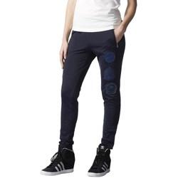 Oblačila Ženske Spodnji deli trenirke  adidas Originals Originals Rita Ora Cosmic Mornarsko modra