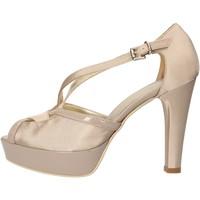 Čevlji  Ženske Sandali & Odprti čevlji Sergio Cimadamore sandali beige raso vernice AF482 Beige