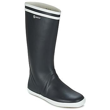 Čevlji  Moški škornji za dež  Aigle GOELAND Bela