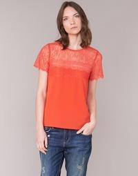 Oblačila Ženske Topi & Bluze Moony Mood GERDUS Oranžna