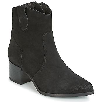Čevlji  Ženske Gležnjarji Vero Moda NAJA Črna