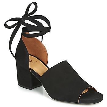 Čevlji  Ženske Sandali & Odprti čevlji Hudson METTA Črna