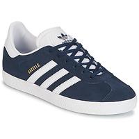 Čevlji  Dečki Nizke superge adidas Originals GAZELLE J Modra