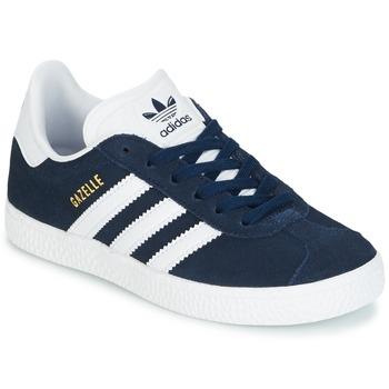 Čevlji  Otroci Nizke superge adidas Originals Gazelle C Modra